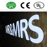 Segno professionale della lettera di /Acrylic della lettera della Manica del LED