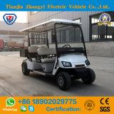 Zhongyi 도로 배터리 전원을 사용하는 고전적인 셔틀 판매를 위한 관광 화물 소형 전기 골프 카트 떨어져 4명의 전송자