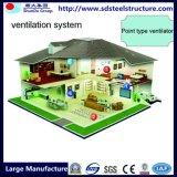 Camera prefabbricata di costruzione calda della struttura d'acciaio del blocco per grafici dell'indicatore luminoso dell'ampio respiro di ISO&Ce di vendita