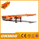 Oplegger de Met grote trekspanning van de Container van het Skelet van Chhgc 40FT 3axle