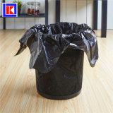 LDPE/HDPEのロールのカスタム台所タイのハンドルのごみ袋
