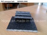 El PVC680s tejido sólido resistente al fuego de la correa transportadora