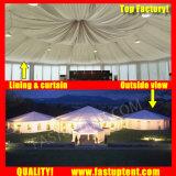 Acheter côté transparent multi tente pour l'événement 12m de diamètre de 200 personnes places Guest