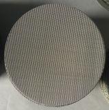 Het gesinterde Netwerk van de Filter van de Schijf van de Filter van het Roestvrij staal van 5 Micron