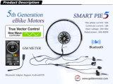 Bluetoothのスマートなパイ5 200W-500W電気自転車モーター、組み込みのプログラマブルコントローラ