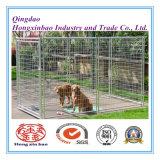 Hundehundehütte oder Hunderahmen-stapelbarer gefalteter galvanisierter Stahl geschweißter Speicher-Rahmen