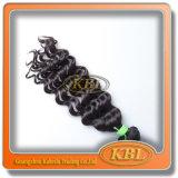 Человеческие волосы волны бразильских волос Unprocessed глубокие