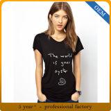 女性のためのデザイン最も新しい印刷されたTシャツ