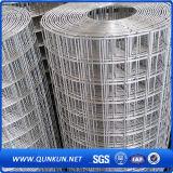 Treillis métallique soudé par 2X4 galvanisé électrique de vente chaude