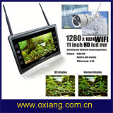 1080P 움직임 탐지 IP 사진기 11 인치 - Difinition LCD 스크린 WiFi 높은 NVR 장비