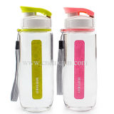 BPA Free Plastic Sport Water Bottle с Drink Hole Dn-113