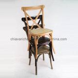 طبيعة لون خشبيّة عرس صليب ظهر كرسي تثبيت