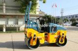 Rolo de estrada Vibratory pequeno de 2 toneladas com cilindro dobro Jm802h
