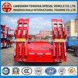 3 essieux 50 tonnes de Lowbed Lowboy de remorque lourde de camion à vendre