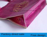 No tejidas bolsas láser con el botón bolsa, engrosamiento de tejido sin tejer