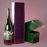 Caixas de papel onduladas do lustro para o frasco de vinho do Sigle