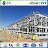 Costruzione prefabbricata della struttura d'acciaio del piano di Multy per il gruppo di lavoro del magazzino