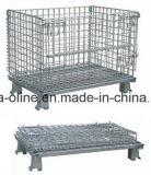 A granel de metal jaula de acero de almacenamiento (800 * 600 * 640)