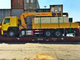 Gru montata camion 8-16 tonnellate della gru del camion di auto di caricamento di gru del camion