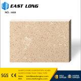 Дешевые чисто белые/серые/бежевые слябы камня кварца для панели верхней части тщеты/плитки/стены пола с строительным материалом/твердой поверхностью