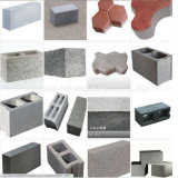 Catalogue des prix complètement automatique de machine de brique de la mousse Qt5-15 de bloc concret faisant la machine
