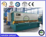 Máquina de estaca hidráulica do CNC do tipo do ABRIGO para o aço inoxidável