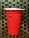 12oz PP 빨간 플라스틱 맥주 Cup/360ml 처분할 수 있는 플라스틱 당 컵