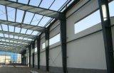절연제 지붕과 벽 (KXD-017)를 가진 가벼운 강철 구조물 작업장