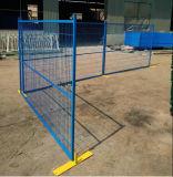 загородка загородки стандартного порошка 6feetx9.5feet Канады Coated временно/Temp конструкции