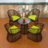 Im Freientische und Stuhl-Rattan-im Freienmöbel Z385