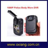 Minigetragenes Video DVR der Polizei-1080P Karosserie mit IR-Nachtsicht
