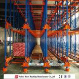 Entraînement d'entrepôt dans le système de stockage de défilement ligne par ligne
