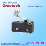 Globale Sicherheits-anerkannter Mikroschalter 5A 125/250VAC