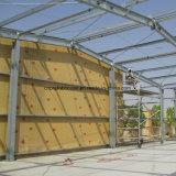 Instalación rápida Diseño en la construcción de almacén de la estructura de acero