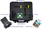 Schwarzer Detektor des Falke-Gr-100/Gold/Splitter-Detektor/Diamant-Detektor/Edelstein-Detektor/Metalldetektor