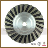돌 콘크리트 (S-DCDB-1015)를 위한 단 하나 줄 다이아몬드 컵 바퀴