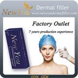 Derm Plus 10ml Sodium Hyaluronate, Inyección Cross-Linked Pure Ácido Hialurónico Facial Dermal Filler