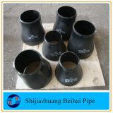 Norme ANSI B16.9 du réducteur ASTM A234 Wpb de CCE d'ajustage de précision de pipe de CS