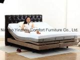 Moteur d'Okin de moteur de massage avec le Roi fendu Queen Size Adjustable Bed de matelas de mousse de mémoire