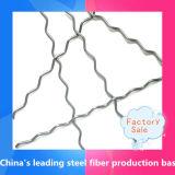 La vente chaude a ondulé la fibre en acier pour le béton de renfort