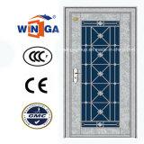 高品質の入口の機密保護の白いカラー鋼鉄金属のドア(W-GH-28)