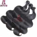 Волосы девственницы объемной волны верхнего качества естественные индийские