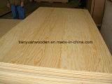 Madera contrachapada entera del cedro de lápiz de la base del álamo para el uso de los muebles