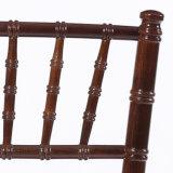Silla de caoba de Chiavari de madera sólida