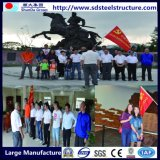 Здание Китая гальванизированное фабрикой передвижное модульное полуфабрикат