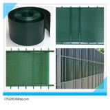 100%Anti-UV cerca dura del jardín del PVC del peso 1450g Ral7040 el 19cm*2.525m