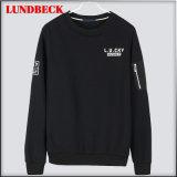 2018 T-Shirt Noir Fashion Shirt Long Sleeve pour les hommes