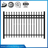 El bastidor del OEM/echó piezas de la cerca del hierro labrado del Manufactory de China