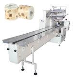 Solo rollo papel higiénico de tejido de la máquina de embalaje embalaje