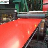 La couleur a enduit la bobine en acier en aluminium de Galvalume enduite d'une première couche de peinture par Ral de bobine